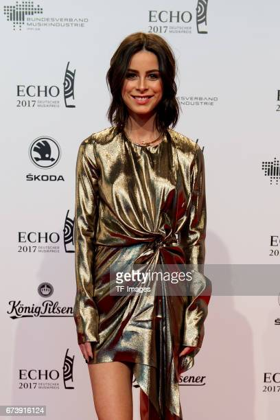 Lena MeyerLandrut on the red carpet during the ECHO German Music Award in Berlin Germany on April 06 2017