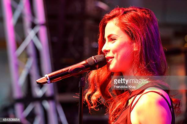 3cc9030fa1900e Lena MeyerLandrut performs at the Late Night Shopping Designer Outlet Soltau  on August 28 2014 in