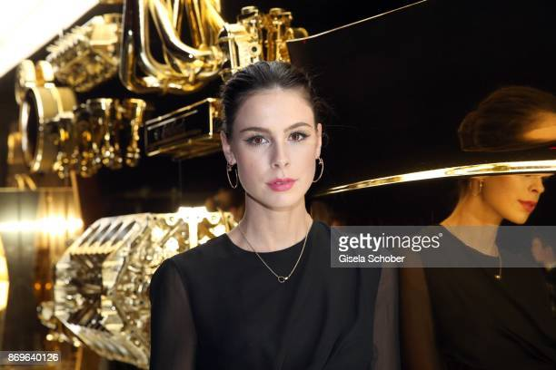 Lena MeyerLandrut wearing jewelry 'JUSTE UN CLOU' by Cartier during the 'When the Ordinary becomes Precious #CartierParty Berlin ' at Old Power...