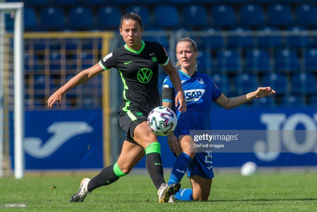 TSG Hoffenheim v VfL Wolfsburg - Flyeralarm Frauen-Bundesliga : News Photo