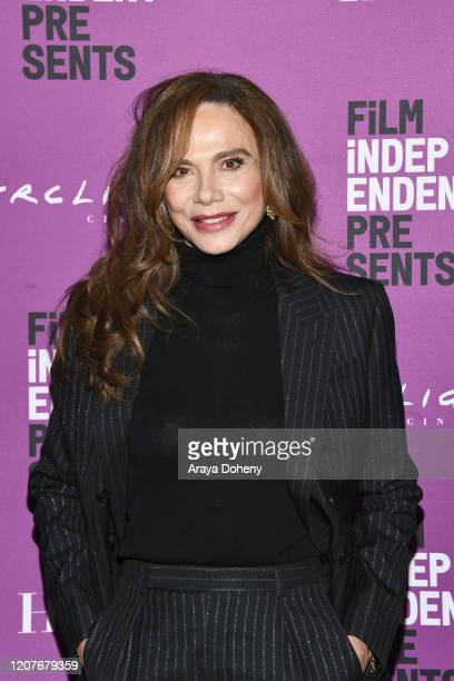 """Lena Olin at Film Independent Screening Series Presents """"Hunters"""" at ArcLight Culver City on February 20, 2020 in Culver City, California."""