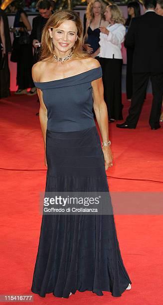 Lena Olin during 2005 Venice Film Festival Casanova Premiere Arrivals at Sala Grande in Venice Italy