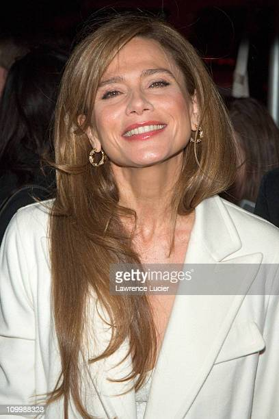 Lena Olin during Touchstone Pictures' Casanova New York City Premiere Outside Arrivals at Loews Lincoln Square in New York City New York United States