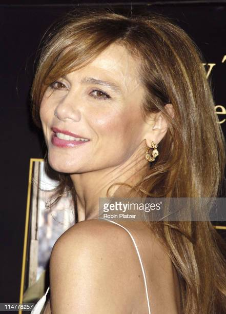 Lena Olin during Touchstone Pictures' Casanova New York City Premiere Inside Arrivals at The Loews Lincoln Square in New York City New York United...
