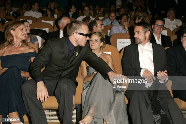 Lena Olin Heath Ledger Sienna Miller and Jeremy Irons