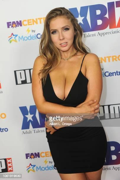 Lena Paul arrives for XBIZ Rise Adult Talent Appreciation Gala held at Exchange LA on November 14 2018 in Los Angeles California
