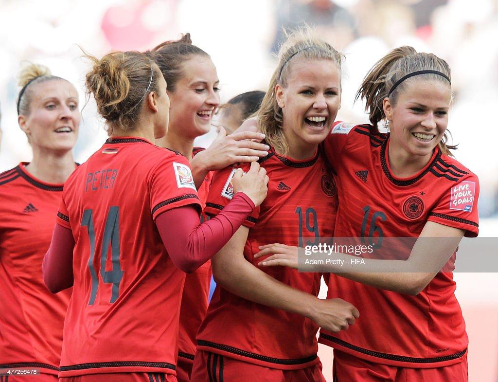 Thailand v Germany: Group B - FIFA Women's World Cup 2015 : News Photo