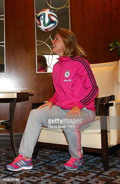 Lena Petermann of Germany poses for a photo at Sheraton Hotel on August 19 2014 in Montreal Canada