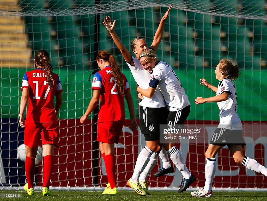 Germany v USA: Group B - FIFA U-20 Women's World Cup Canada 2014