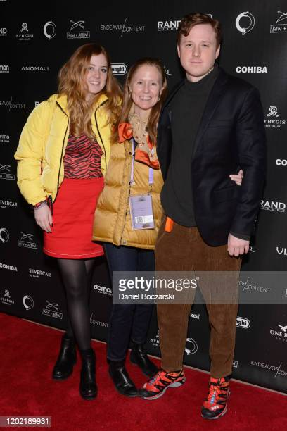 Lena Redford Kyle Redford and Dylan Redford attend the private reception during Sundance 2020 for Omniboat A Fast Boat Fantasia hosted by RAND Luxury...