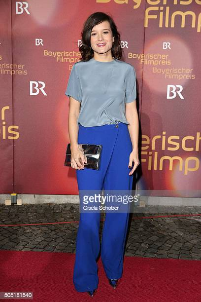 Lena Schoemann producer of the movie 'Fack ju Goehte' during the Bavarian Film Award 2016 at Prinzregententheater on January 15 2016 in Munich Germany