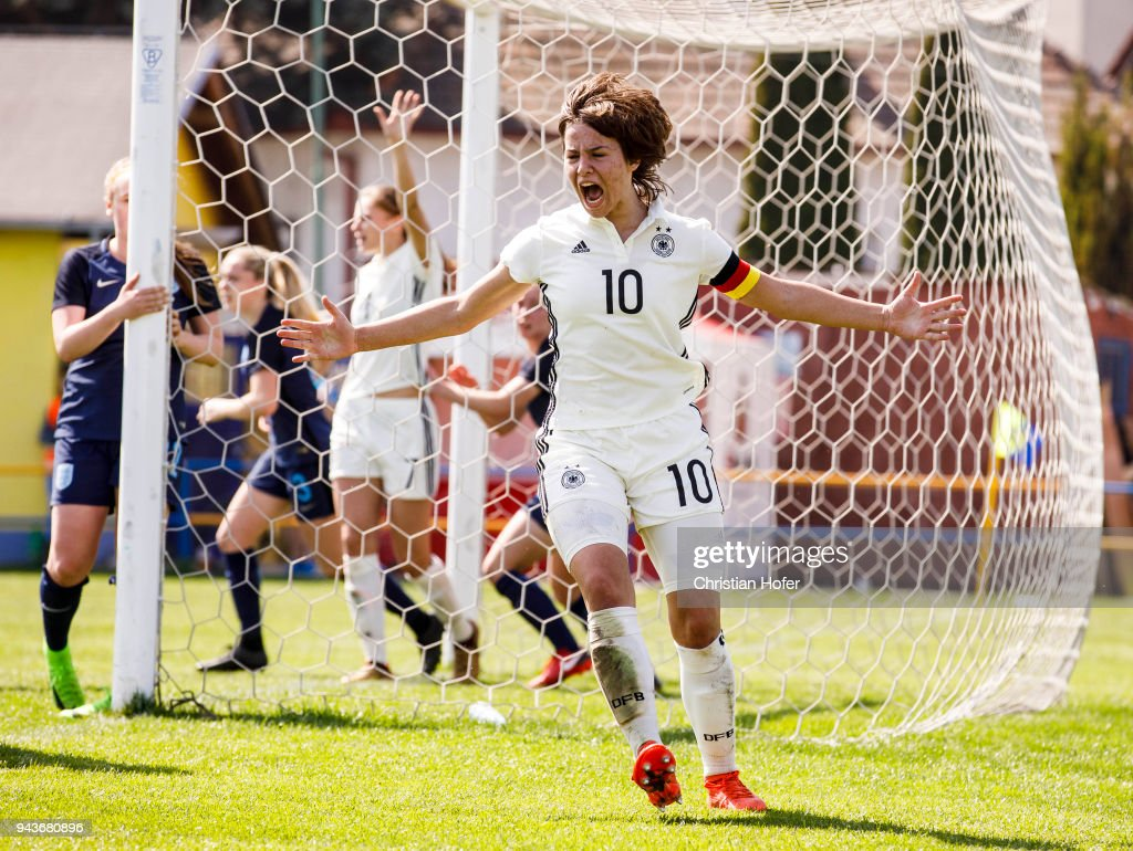 Women's U19 Germany v Women's U19 England - UEFA Women's Under19 Elite Round