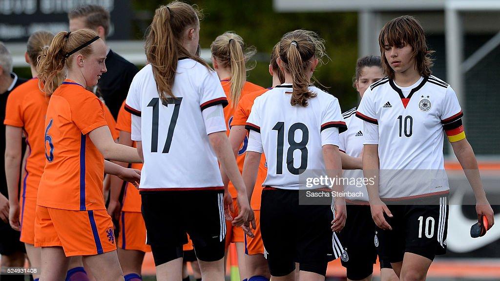 U17 Girl's Netherlands v U17 Girl's Germany  - International Friendly