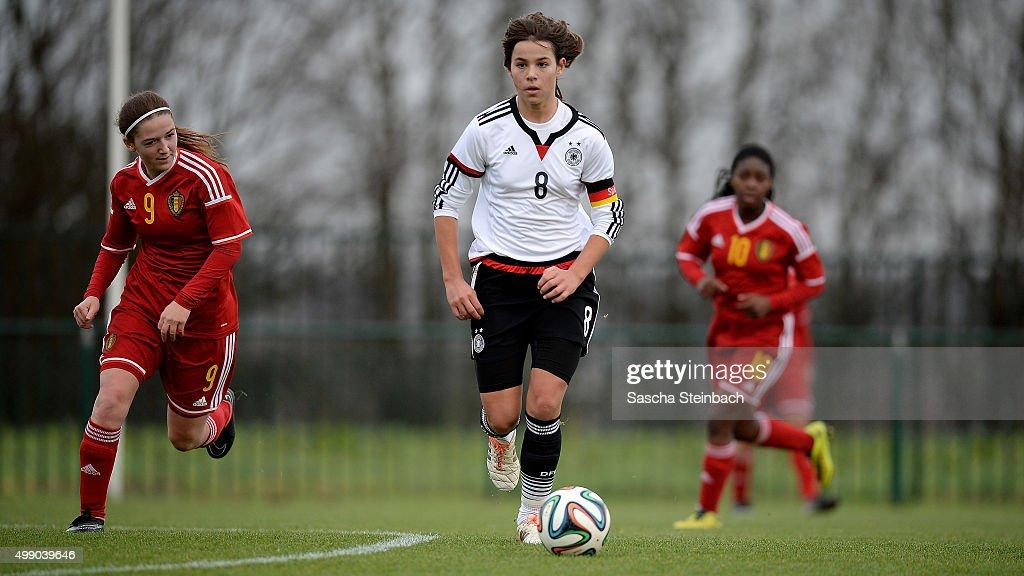 U15 Girl's Belgium v U15 Girl's Germany - International Friendly