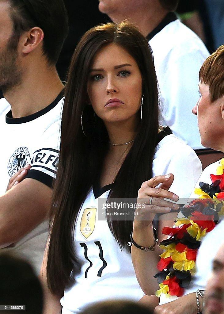 Lena Terlau, girlfriend of Julian Draxler of Germany