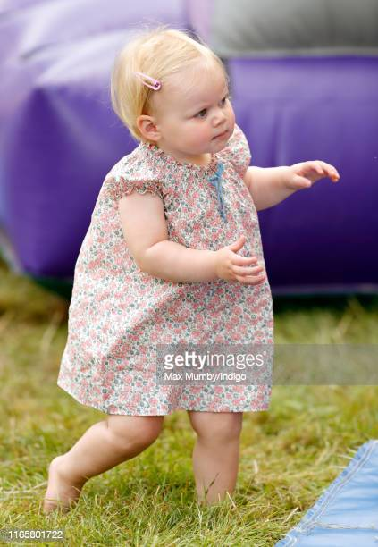 Lena Tindall attends day 1 of the 2019 Festival of British Eventing at Gatcombe Park on August 2, 2019 in Stroud, England.