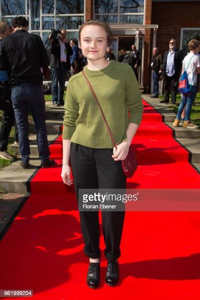 Lena Urzendowsky attends the 53rd Grimme Award at Theater Marl on March 31 2017 in Marl Germany