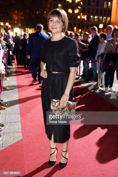 Lena Urzendowsky during the Hessian Film and Cinema Award at Alte Oper on October 12 2018 in Frankfurt am Main Germany
