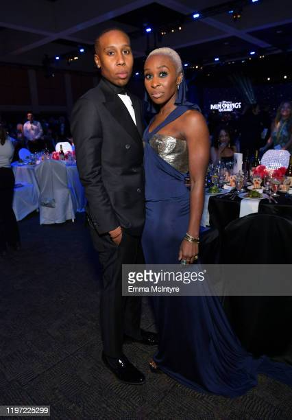 Lena Waithe and Cynthia Erivo attend the 31st Annual Palm Springs International Film Festival Film Awards Gala at Palm Springs Convention Center on...