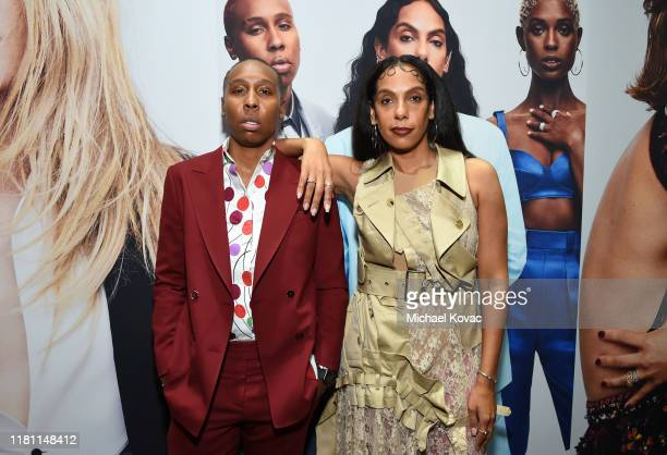 Lena Waithe and Melina Matsoukas attend ELLE's 26th Annual Women In Hollywood Celebration Presented By Ralph Lauren And Lexus at The Four Seasons...