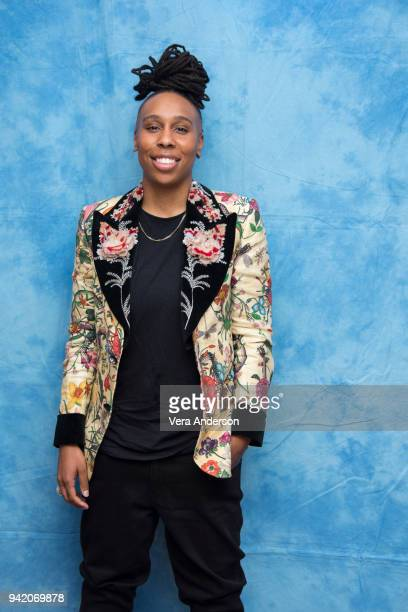 Lena Waithe at 'The Chi' Press Conference at The Montage Hotel on April 4 2018 in Beverly Hills California