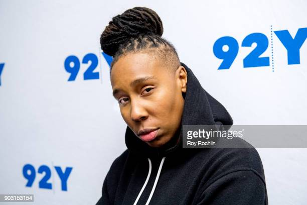 Lena Waithe attends 92nd Street Y Presents Showtime's 'The Chi' at Kaufman Concert Hall on January 9 2018 in New York City