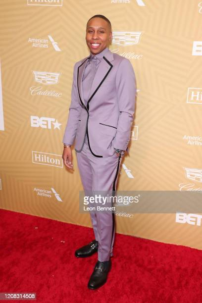 Lena Waithe attends American Black Film Festival Honors Awards Ceremony at The Beverly Hilton Hotel on February 23, 2020 in Beverly Hills, California.