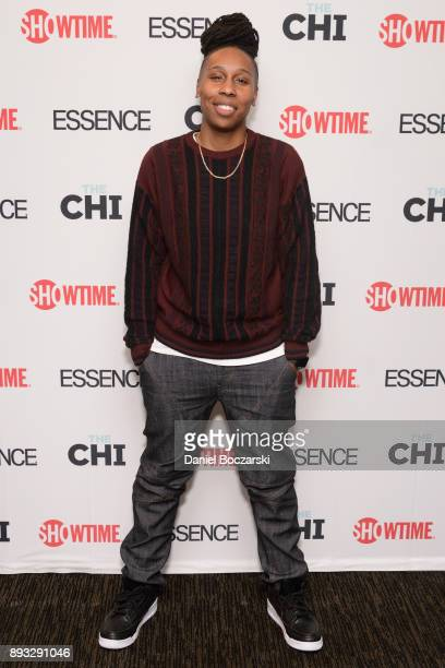Lena Waithe attends an advance screening of Showtime's 'The Chi' on Chicago's South Side at SMG Chatham on December 14 2017 in Chicago Illinois