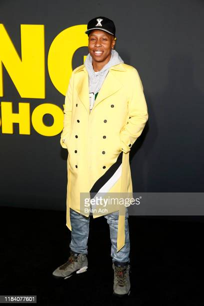 Lena Waithe attends Apple's global premiere of The Morning Show at Josie Robertson Plaza and David Geffen Hall Lincoln Center for the Performing Arts...