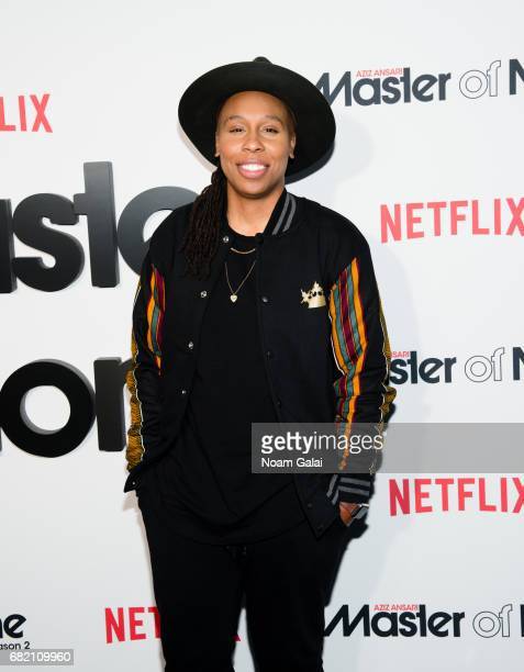 Lena Waithe attends 'Master Of None' Season 2 premiere at SVA Theatre on May 11 2017 in New York City