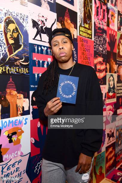Lena Waithe attends Refinery29 29Rooms Los Angeles Turn It Into Art Opening Night Party at ROW DTLA on December 6 2017 in Los Angeles California