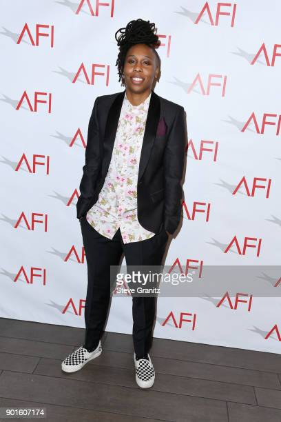 Lena Waithe attends the 18th Annual AFI Awards at Four Seasons Hotel Los Angeles at Beverly Hills on January 5 2018 in Los Angeles California