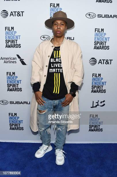 Lena Waithe attends the 2019 Film Independent Spirit Awards nominee brunch at BOA Steakhouse on January 5, 2019 in West Hollywood, California.