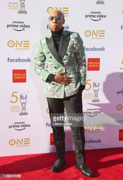 Lena Waithe attends the 50th NAACP Image Awards at Dolby Theatre on March 30 2019 in Hollywood California
