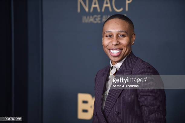 Lena Waithe attends the 51st NAACP Image Awards at the Pasadena Civic Auditorium on February 22, 2020 in Pasadena, California.