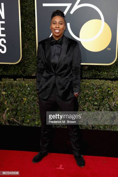 Lena Waithe attends The 75th Annual Golden Globe Awards at The Beverly Hilton Hotel on January 7 2018 in Beverly Hills California