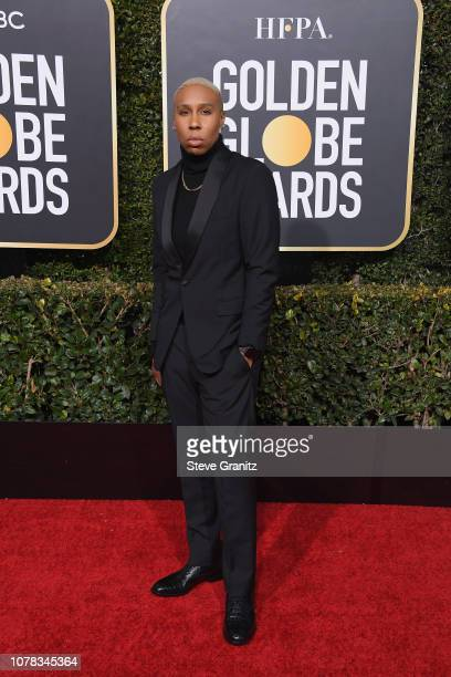 Lena Waithe attends the 76th Annual Golden Globe Awards at The Beverly Hilton Hotel on January 6, 2019 in Beverly Hills, California.