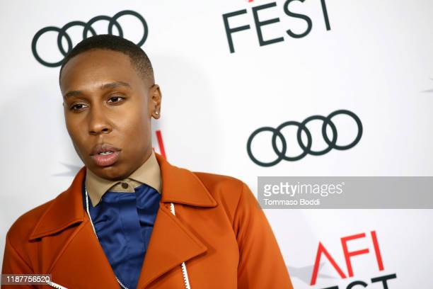 "Lena Waithe attends the AFI FEST 2019 Presented By Audi premiere of ""Queen & Slim"" at TCL Chinese Theatre on November 14, 2019 in Hollywood,..."