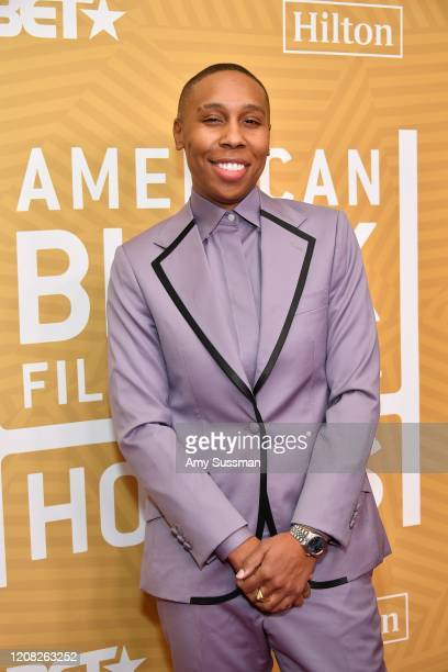 Lena Waithe attends the American Black Film Festival Honors Awards Ceremony at The Beverly Hilton Hotel on February 23, 2020 in Beverly Hills,...