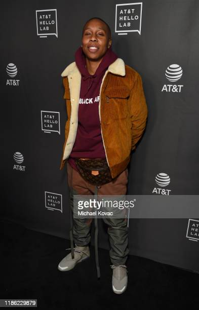 Lena Waithe attends the AT&T Filmmaker Mentorship Program Premiere at NeueHouse Los Angeles on November 07, 2019 in Hollywood, California.