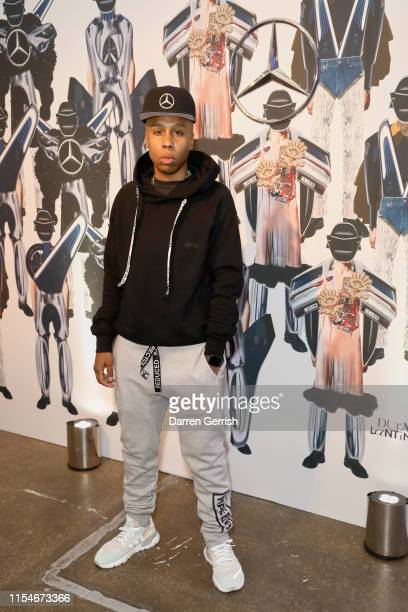 Lena Waithe attends the celebration by MercedesBenz and Lena Waithe for How To in London on June 08 2019 in London England