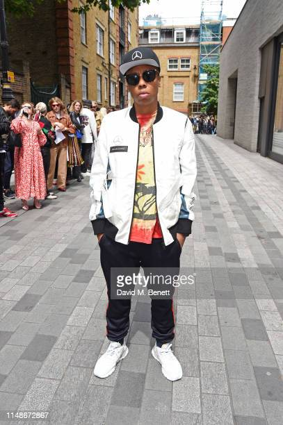 Lena Waithe attends the Chalayan show during London Fashion Week Men's June 2019 at the Chalayan Store on June 9 2019 in London England