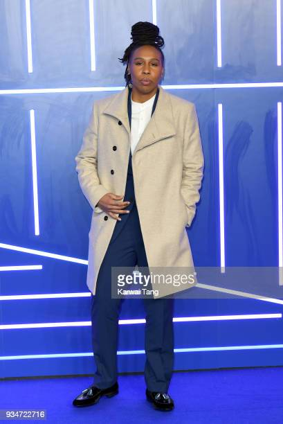 Lena Waithe attends the European Premiere of 'Ready Player One' at Vue West End on March 19 2018 in London England