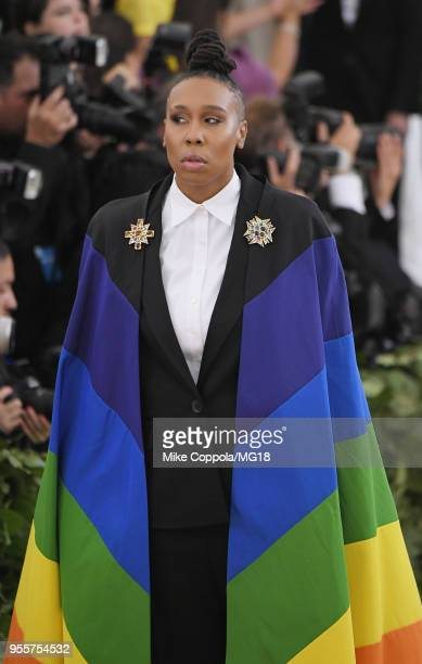 Lena Waithe attends the Heavenly Bodies Fashion The Catholic Imagination Costume Institute Gala at The Metropolitan Museum of Art on May 7 2018 in...