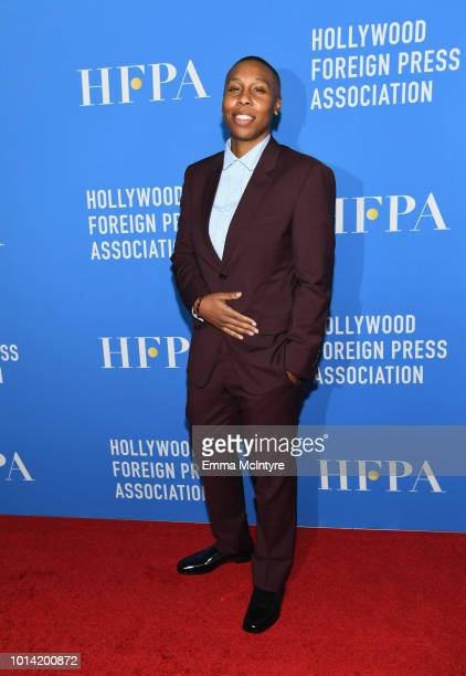Lena Waithe attends the Hollywood Foreign Press Association's Grants Banquet at The Beverly Hilton Hotel on August 9 2018 in Beverly Hills California