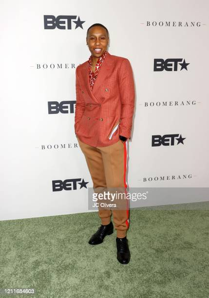 "Lena Waithe attends the premiere of BET's ""Boomerang"" Season 2 at Paramount Studios on March 10, 2020 in Los Angeles, California."