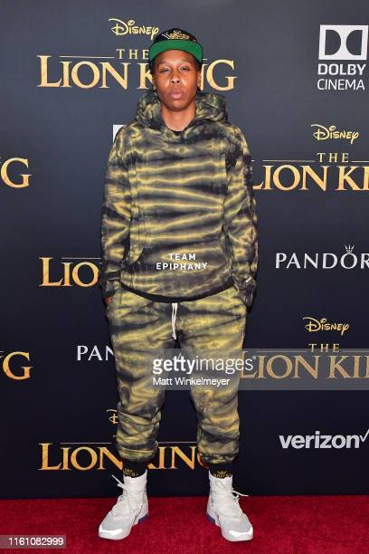 "Lena Waithe attends the premiere of Disney's ""The Lion King"" at Dolby Theatre on July 09, 2019 in Hollywood, California."