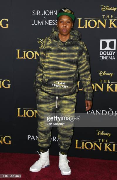 Lena Waithe attends the Premiere Of Disney's The Lion King at Dolby Theatre on July 09 2019 in Hollywood California