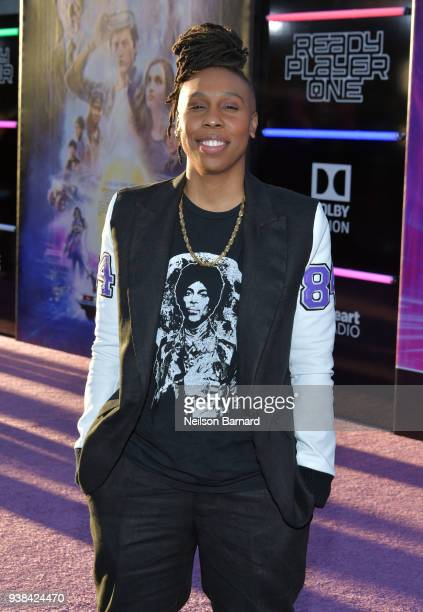 Lena Waithe attends the Premiere of Warner Bros Pictures' Ready Player One at Dolby Theatre on March 26 2018 in Hollywood California