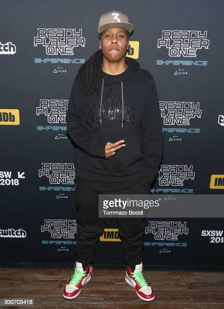 Lena Waithe attends the Ready Player One party hosted by IMDb and Twitch at Brazos Hall on March 12 2018 in Austin Texas